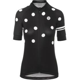 AGU Essential Dot maglietta a maniche corte Donna nero